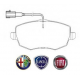 KIT PASTIGLIE ORIGINALI FIAT 77365218